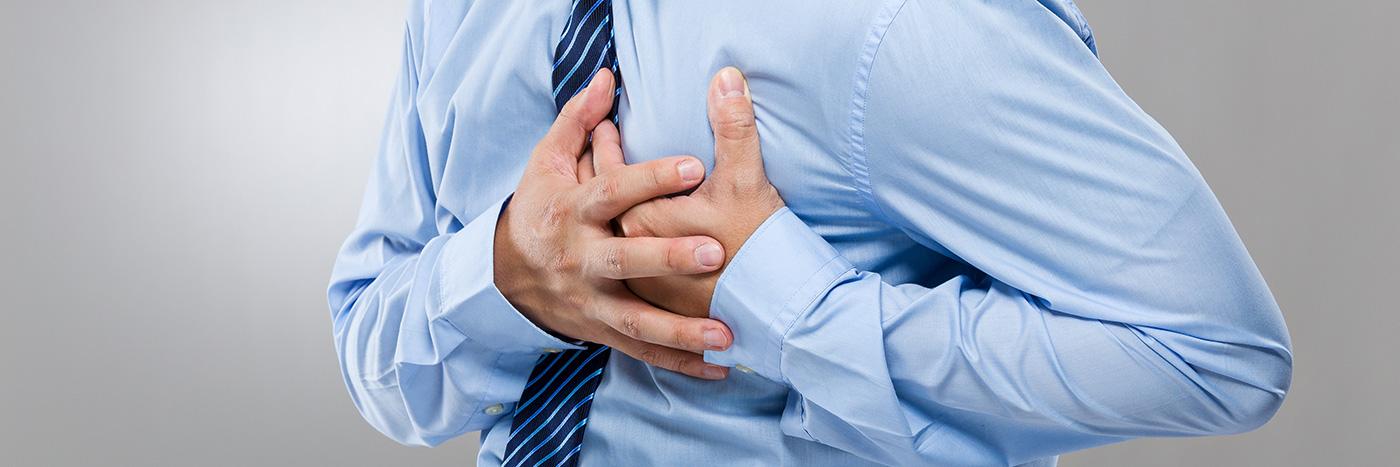 Smärta kan vara ett tecken på hjärtinfarkt
